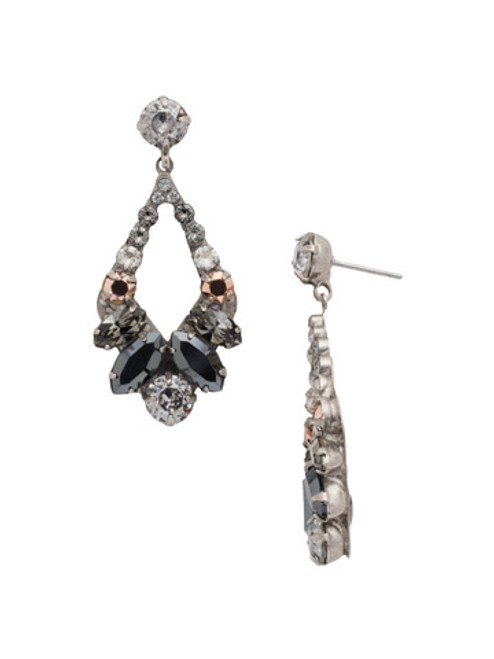 Sorrelli Gold Vermeil Swarovski Crystal Earrings EDA53ASGV