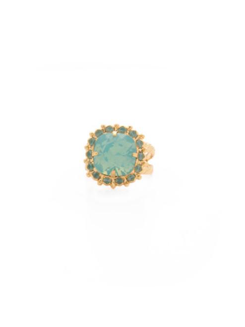 SORRELLI~ Pacific Opal- Cushion Cut Cocktail Ring~ RCR112BGPAC