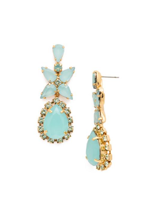 SORRELLI~ Pacific Opal- Bauble Blossoms Earrings~ ECP21BGPAC