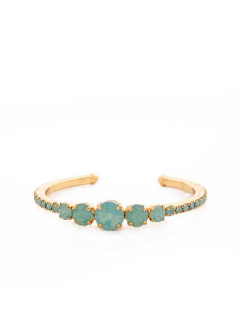SORRELLI Pacific Opal Crystal Cuff Bracelet BCQ14BGPAC