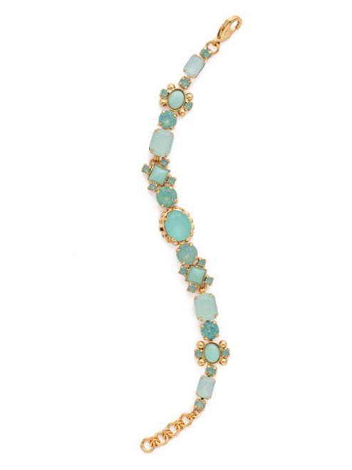 SORRELLI Pacific Opal- Classic Empress Jewel Line Bracelet~ BDJ10BGPAC