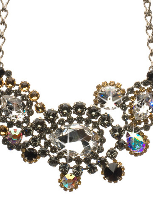 EVENNG MOON CRYSTAL NECKLACE BY SORRELLI