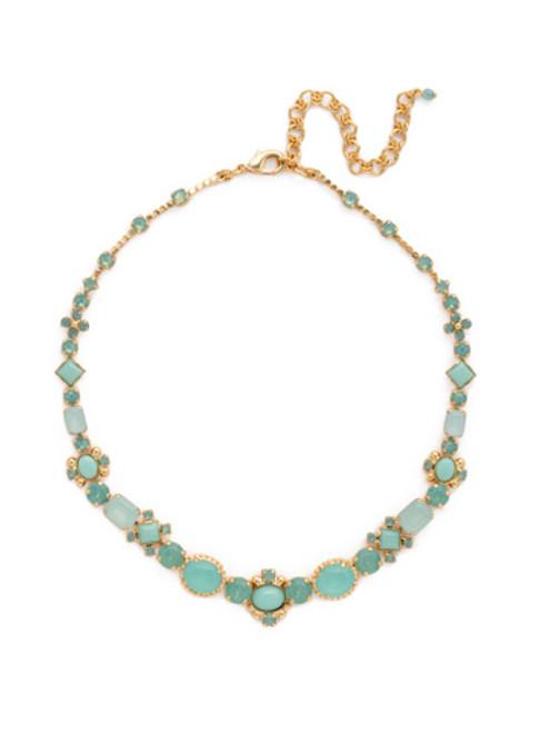 SORRELLI Pacific Opal- Classic Empress Jewel Necklace~ NDJ10BGPAC
