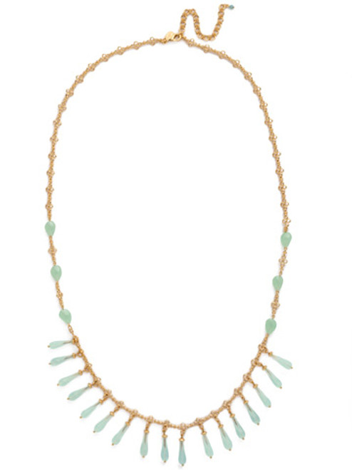 PACIFIC OPAL Crystal Necklace