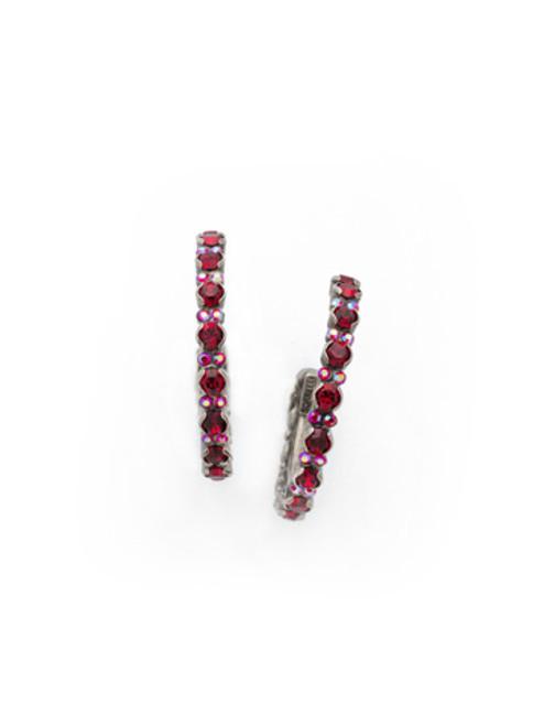 CRANBERRY Crystal Earrings by Sorrelli ECR107ASCB