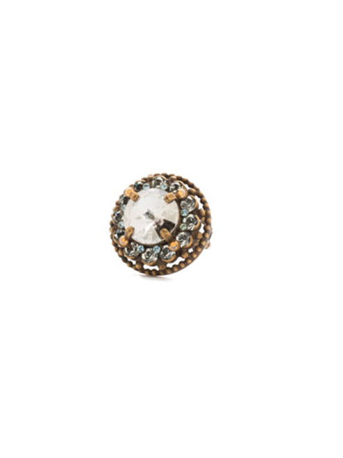 Sorrelli Afterglow- Stone Studded Ring~ RCL2AGAFG