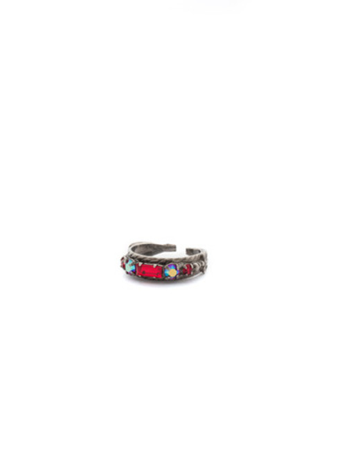CRANBERRY Crystal Ring by Sorrelli RCT30ASCB