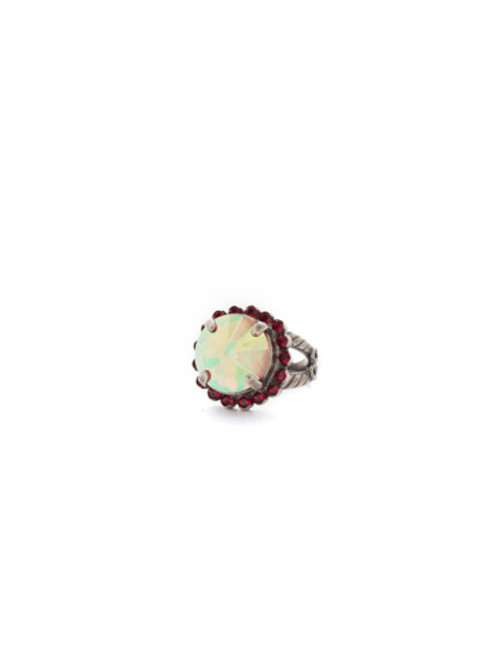 CRANBERRY Crystal Ring by Sorrelli RCR60ASCB