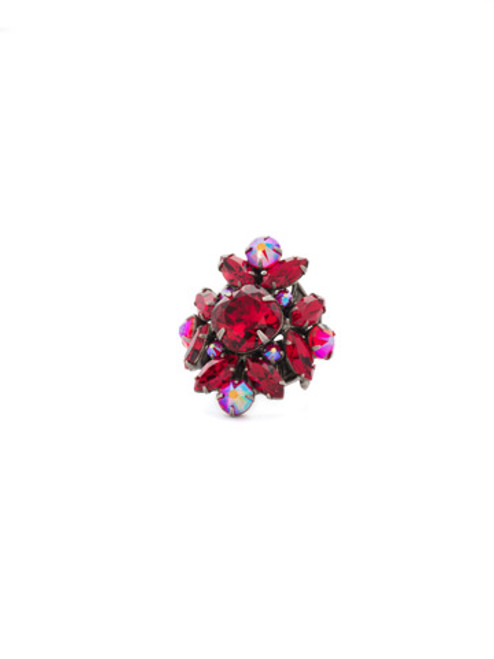 CRANBERRY Crystal Ring by Sorrelli RCR62ASCB