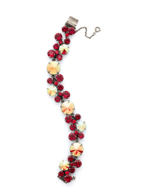 Different View CRANBERRY Crystal Bracelet by Sorrelli BCW10ASCB