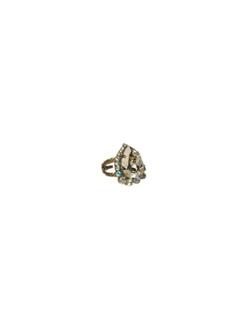 Sorrelli Afterglow- Petite Pear Ring~ RCR8AGAFG