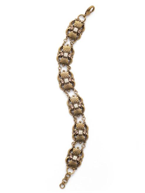 SORRELLI APRICOT AGATE Crystal Bracelet BDK34AGAP
