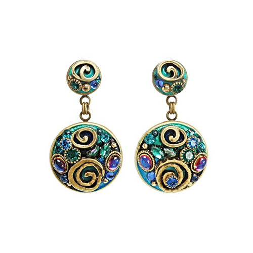 MICHAL GOLAN EMERALD COLLECTION EARRINGS- S8067