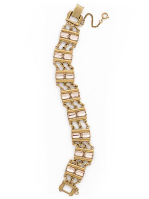 SORRELLI APRICOT AGATE Crystal Bracelet BDK45AGAP