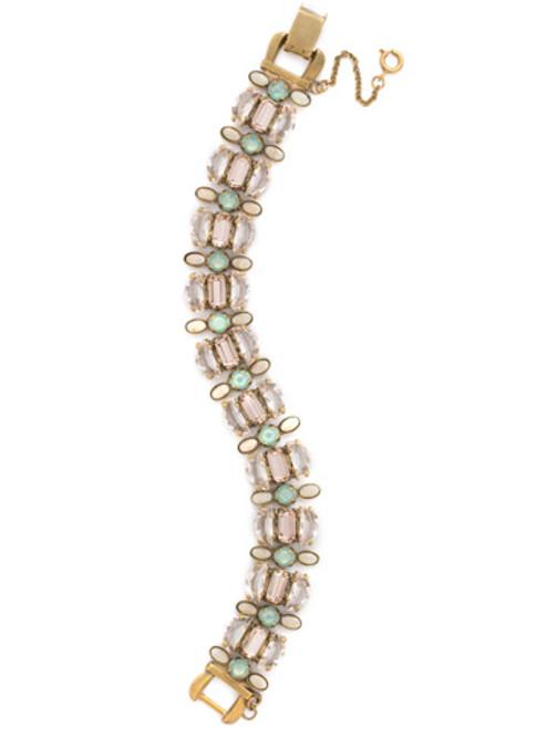 SORRELLI APRICOT AGATE Crystal Bracelet BDK43AGAP