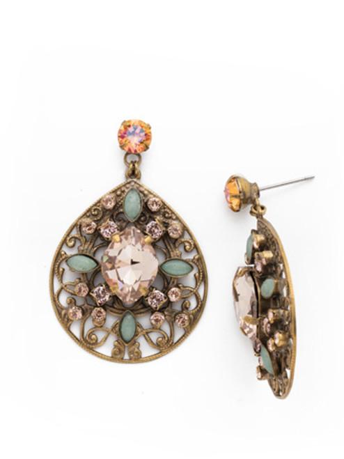 SORRELLI~APRICOT AGATE Assorted Gem Drop Earrings~ EDG27AGAP