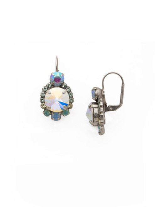 Sorrelli RAINBOW QUARTZ Crystal Earrings