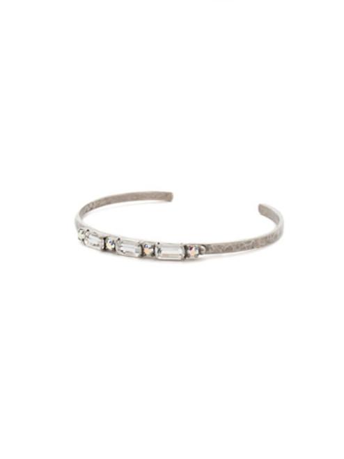 Sorrelli RAINBOW QUARTZ Crystal Cuff Bracelet