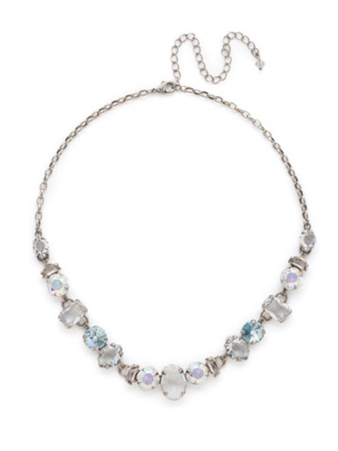 Sorrelli RAINBOW QUARTZ Crystal Necklace
