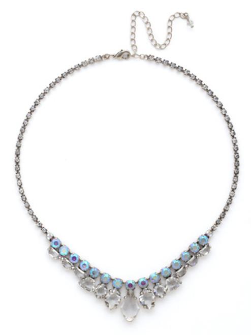 SORRELLI RAINBOW QUARTZ Crystal Necklace NDK35ASRQ