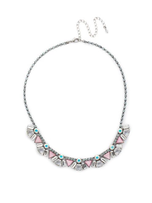 Sorrelli RAINBOW QUARTZ Crystal Necklace ndk42asrq