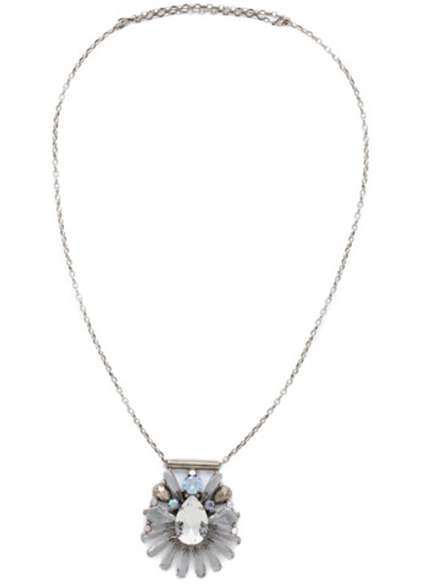 SORRELLI RAINBOW QUARTZ Crystal Necklace NDK25ASRQ