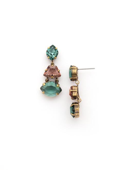 Sorrelli GEM POP Crystal Earrings