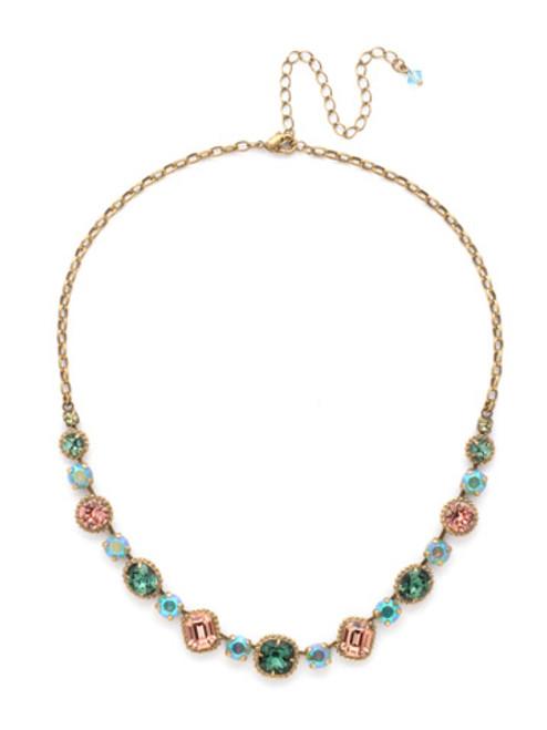 Sorrelli GEM POP Crystal Necklace ndk14agpop