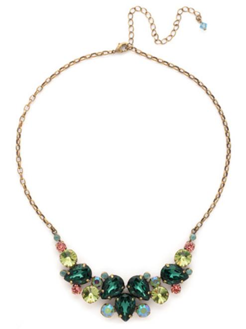 Sorrelli GEM POP Crystal Necklace ndj14agpop
