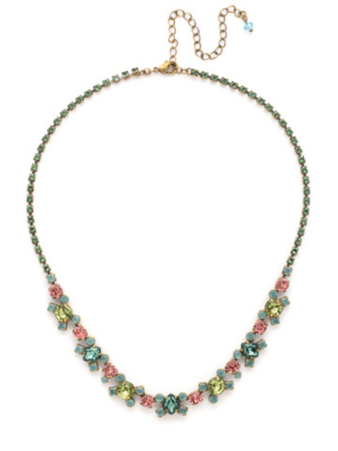 SORRELLI GEM POP Crystal Necklace NDK11AGPOP