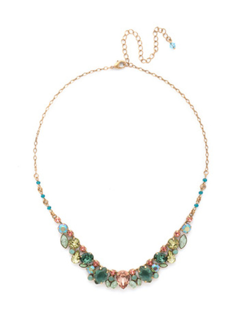 Sorrelli GEM POP Crystal Necklace ndk15agpop
