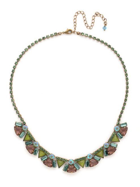 SORRELLI GEM POP Crystal Necklace NDK42AGPOP