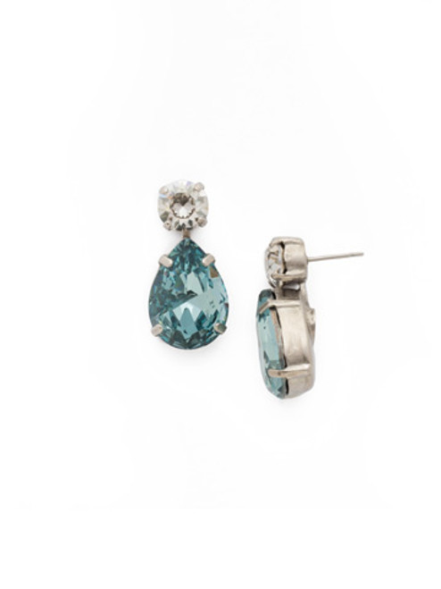 **SPECIAL ORDER**SORRELLI~PEBBLE BLUE Crystal Earrings~ECM9ASPEB