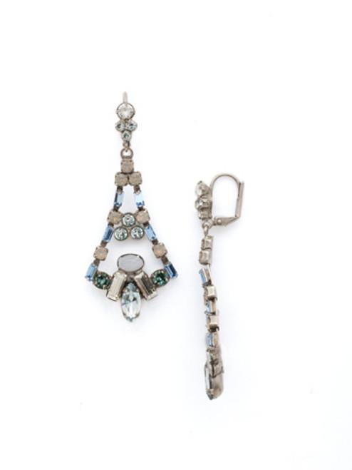 **SPECIAL ORDER**SORRELLI~PEBBLE BLUE Crystal Earrings~EDK59ASPEB