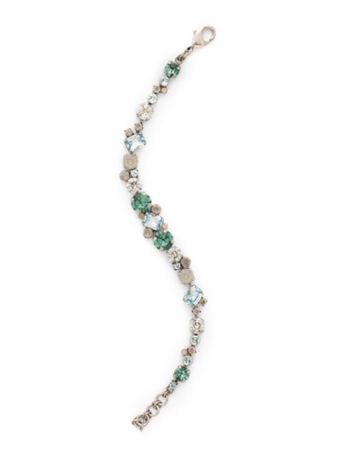 SORRELLI PEBBLE BLUE Crystal Bracelet BDG46ASPEB