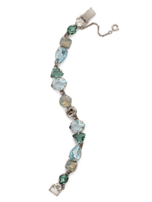 **SPECIAL ORDER**SORRELLI~PEBBLE BLUE Crystal Bracelet~BDK33ASPEB