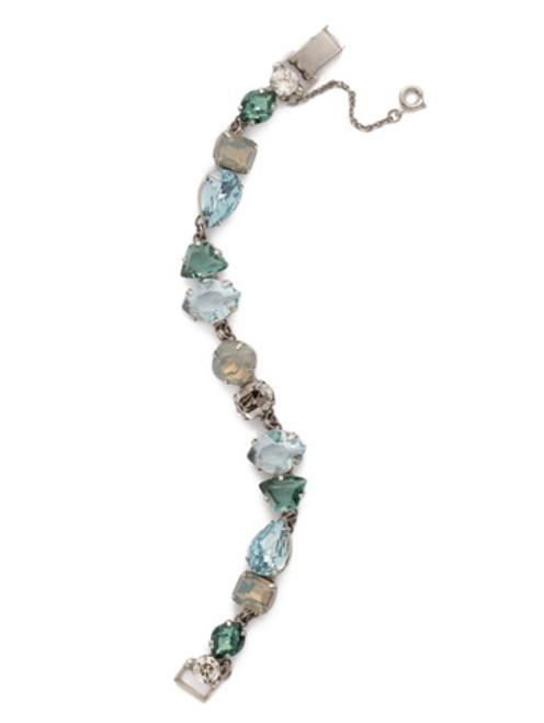 Sorrelli PEBBLE BLUE Crystal Bracelet