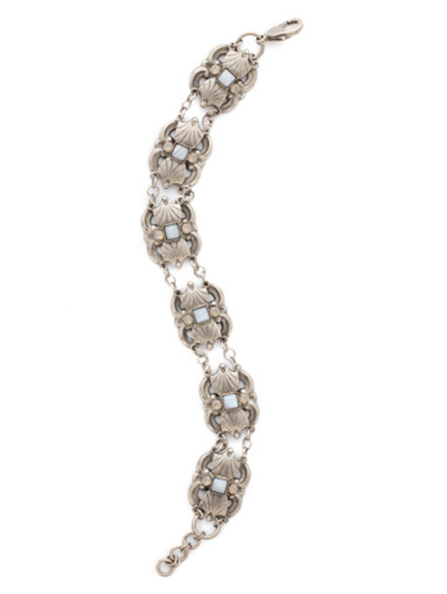 special order sorrelli pebble blue crystal bracelet bdk34aspeb