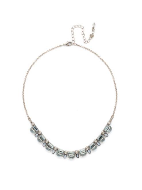 SORRELLI PEBBLE BLUE Crystal Necklace NDK71ASPEB