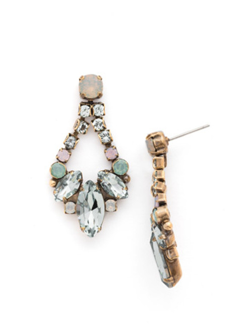 WASHED PASTEL Crystal Earrings
