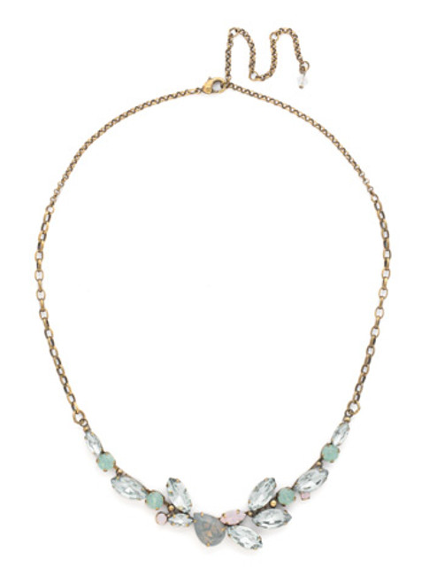 SORRELLI WASHED PASTEL Crystal Necklace NDH113AGWP