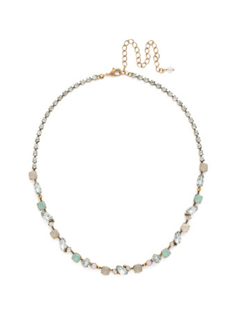 SORRELLI WASHED PASTEL Crystal Necklace NDN1AGWP