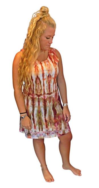 Ice Tye Dye Tank Dress by Martha~Autumn