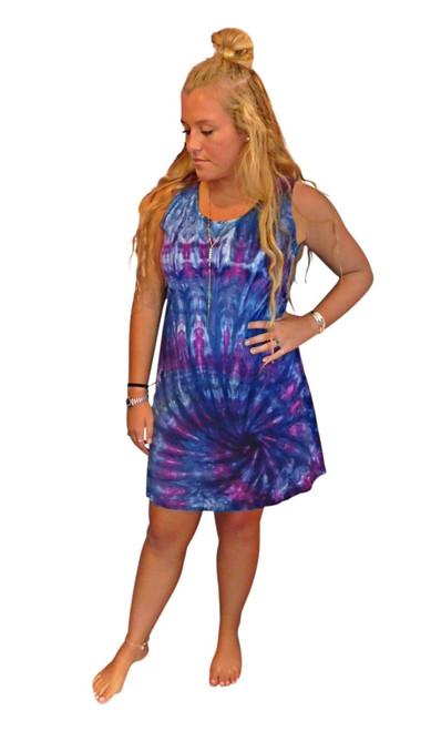 Ice Tye Dye Tank Dress by Martha~Berry