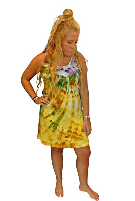 Ice Tye Dye Tank Dress by Martha~Sunset