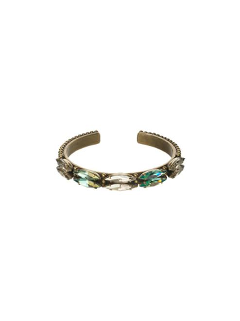 Sorrelli Afterglow- Marquise Crystal Cuff Bracelet~ BCR10AGAFG
