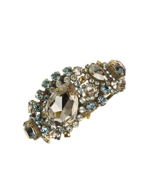 Sorrelli Afterglow- Crystal Paisley Hinge Cuff Bracelet~ BCR3AGAFG