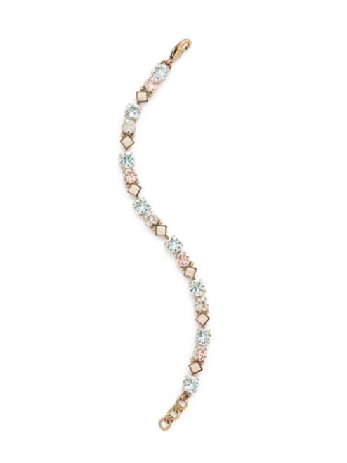 SORRELLI COASTAL MIST Crystal Bracelet BDN36AGCMI