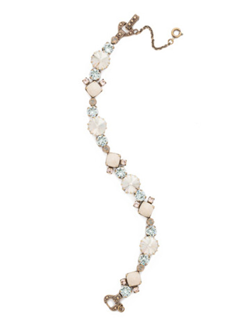 Sorrelli COASTAL MIST Crystal Bracelet