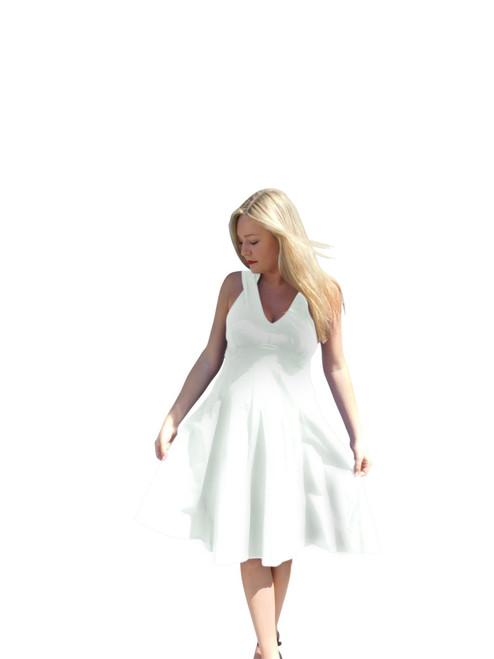 Luna Luz  Sun Dress~5547~White